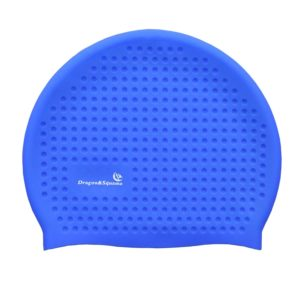 adult waterproof swim cap with silicone