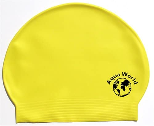 Yellow Aqua World latex Cap