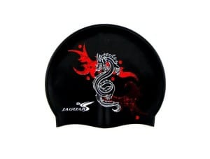 Cool Black Dragon Swim hat