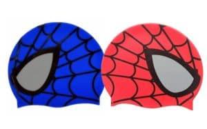 Spiderman Printed Kids Swimming Cap
