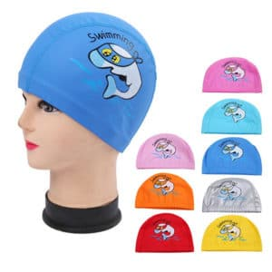 Waterproof Dolphin Children Swimming Cap